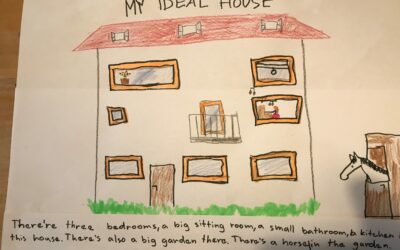 My ideal house – 4.A yellow